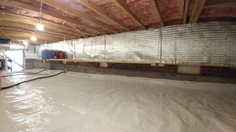 smart storage solutions for your crawlspace
