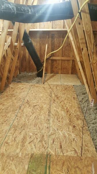 attic storage affordable flooring