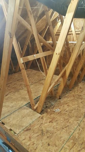 add attic flooring to maximize your storage area