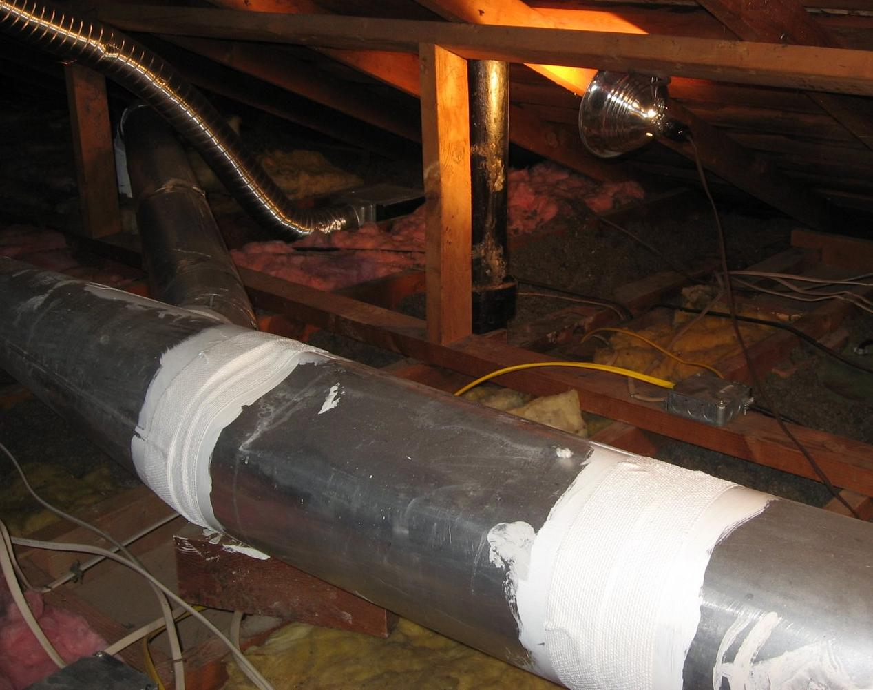 #C79404 Duct Sealing – Stetten Home Services Best 6333 Sealing Air Ducts From The Inside photos with 1268x1002 px on helpvideos.info - Air Conditioners, Air Coolers and more