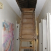 creaky ladder is functional, but not air-tight