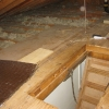 Messy, Low R-Values, Exposed Joists
