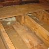 Leaks near the attic access