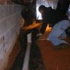 8 fabric under pipe