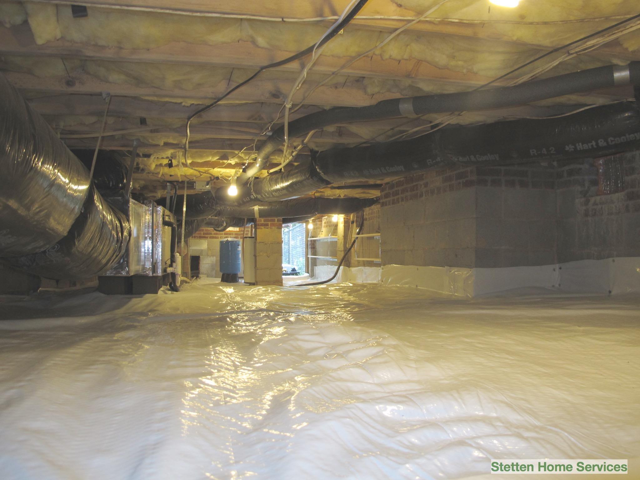 Crawlspace Honey Storage Shelving and more