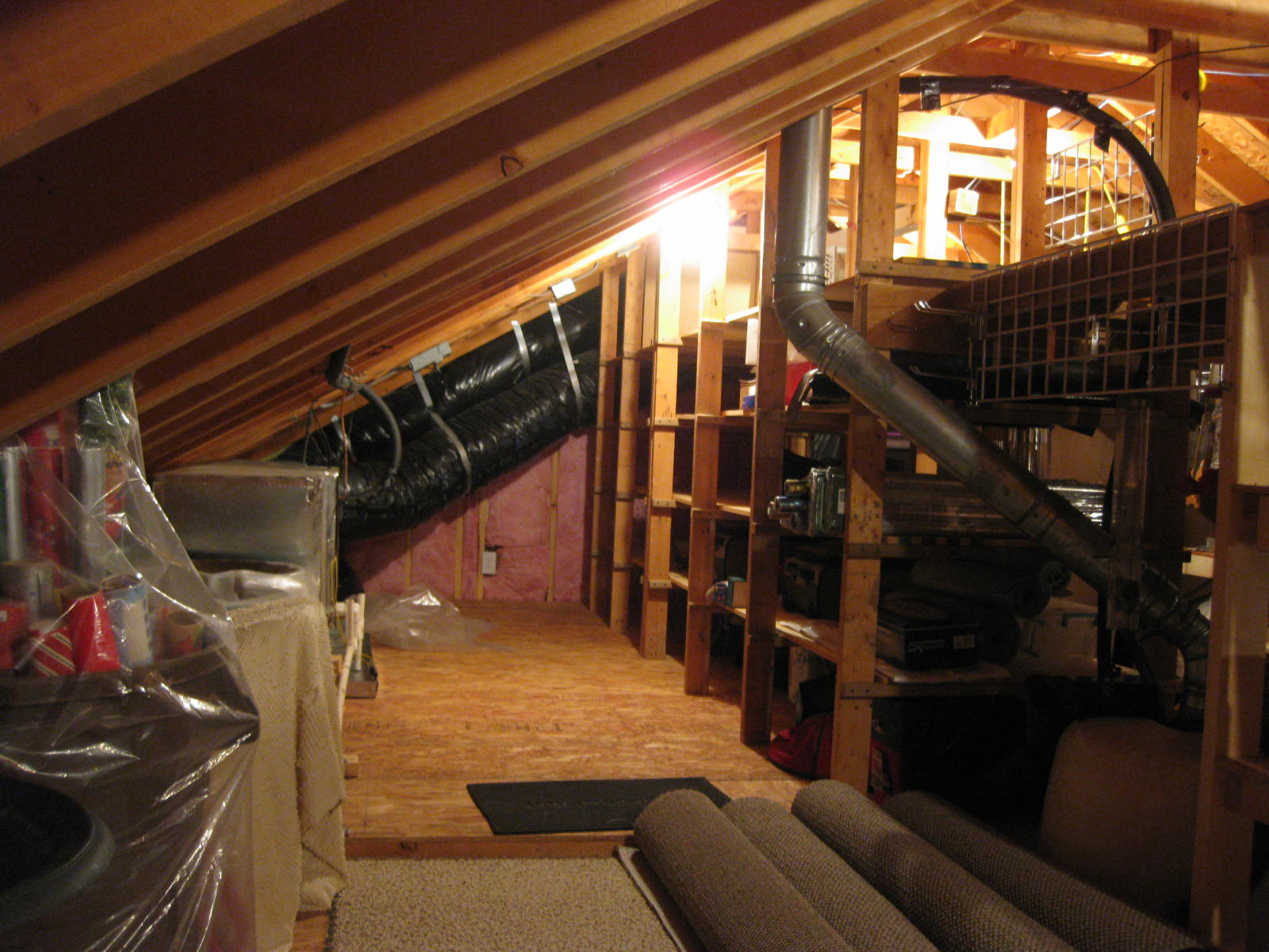 Attic Shelving Systems 3