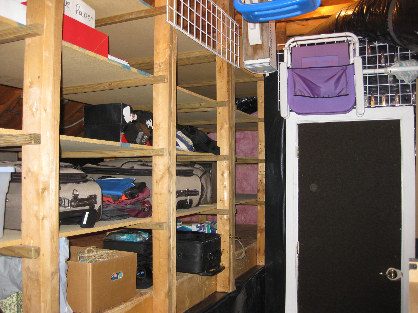Attic Shelving Systems