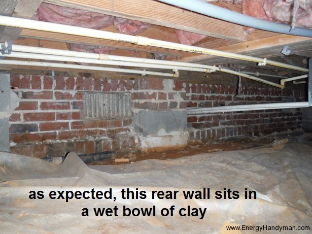 Foundation Water-Proofing Needed
