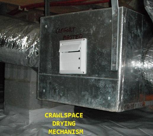 Crawlspace Drying Mech