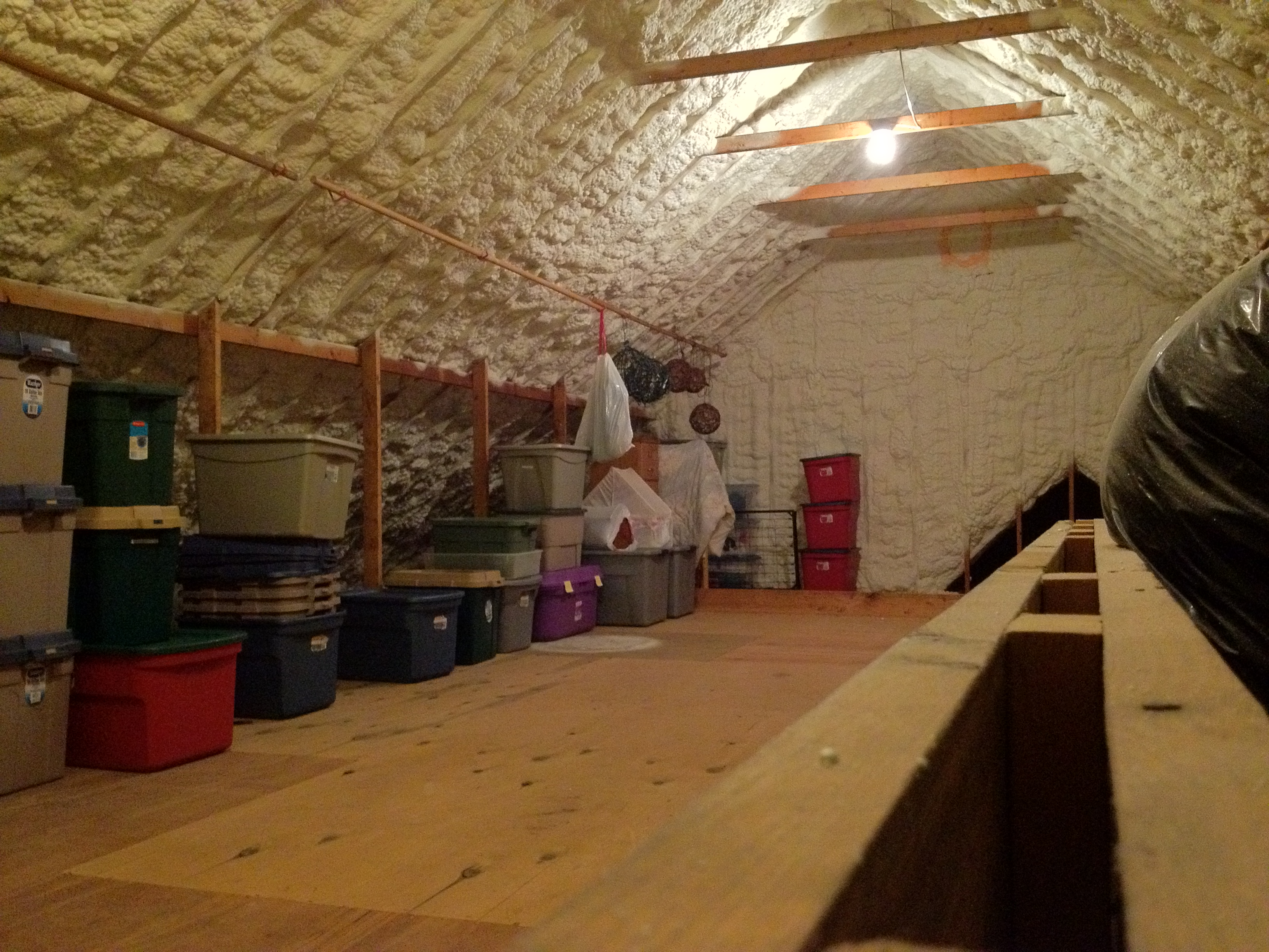 Sealed attics stetten home services for Garage with attic