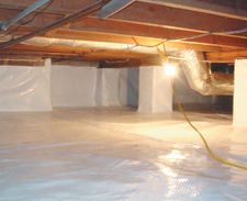 Sealed Crawlspaces by SHS