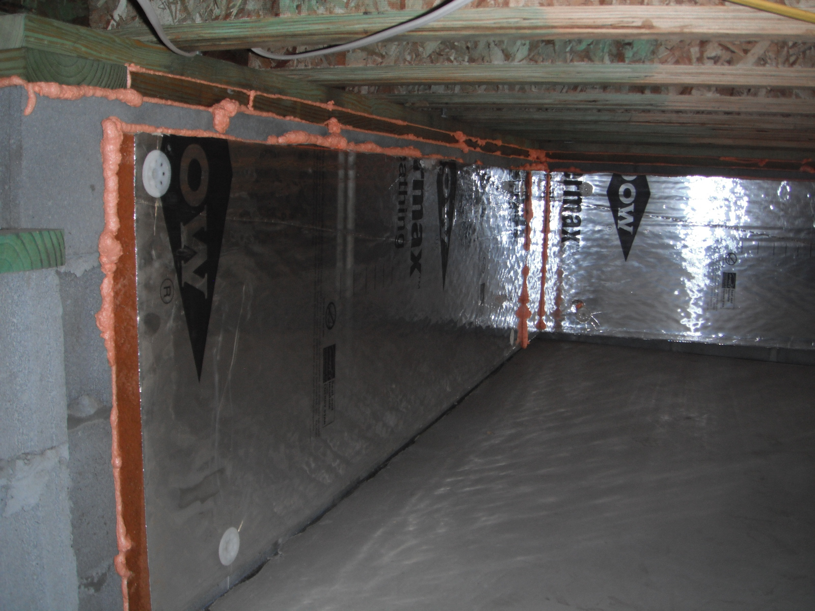 Sealed Crawlspace With Slab Stetten Home Services