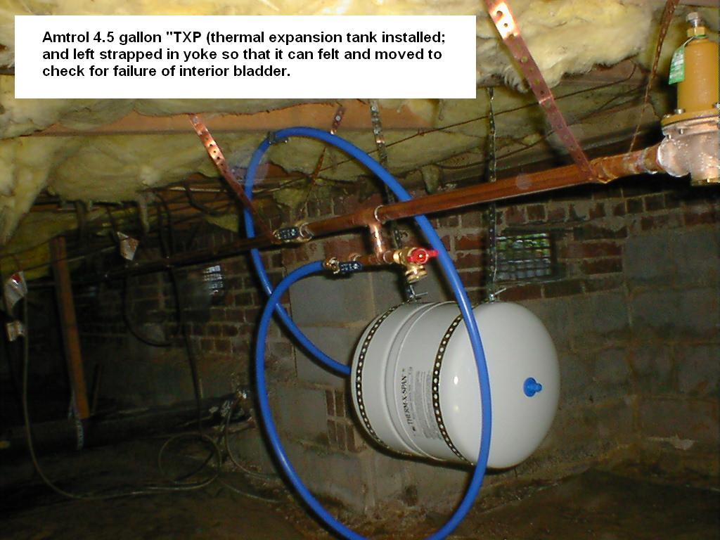 Water Pressure And Thermal Expansion Stetten Home Services