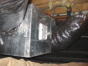 In this crawlspace just one third of the drying potential is needed to keep the crawlspace well within the target zone.